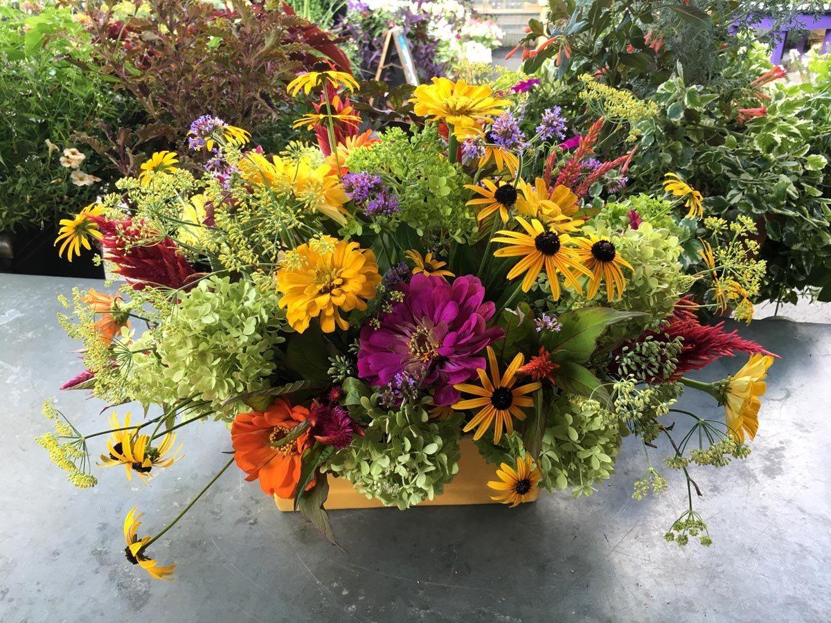 A simple guide to creating a garden fresh arrangement merrifield garden fresh arrangements 5 izmirmasajfo