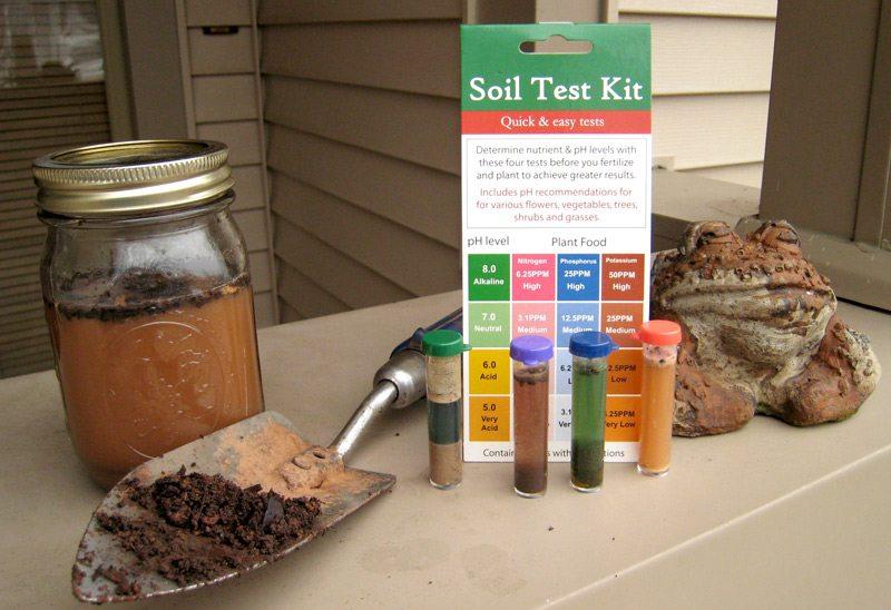 Turf tips liming the lawn merrifield garden center for Soil test kit