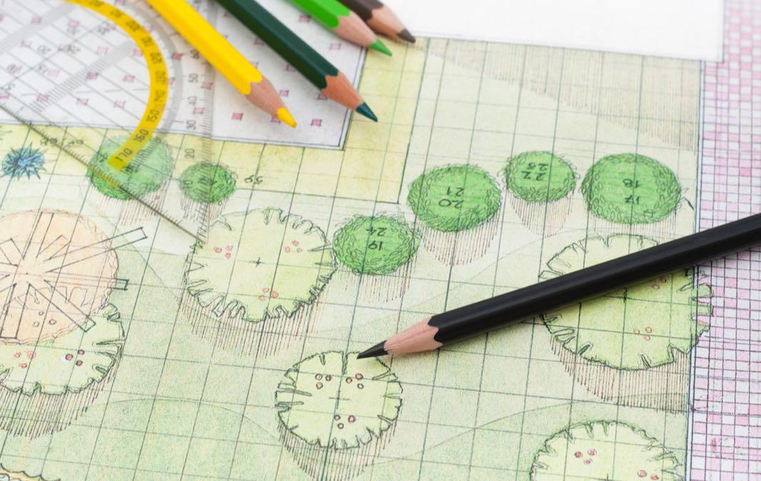 ISTOCK Landscape Plan Drawing
