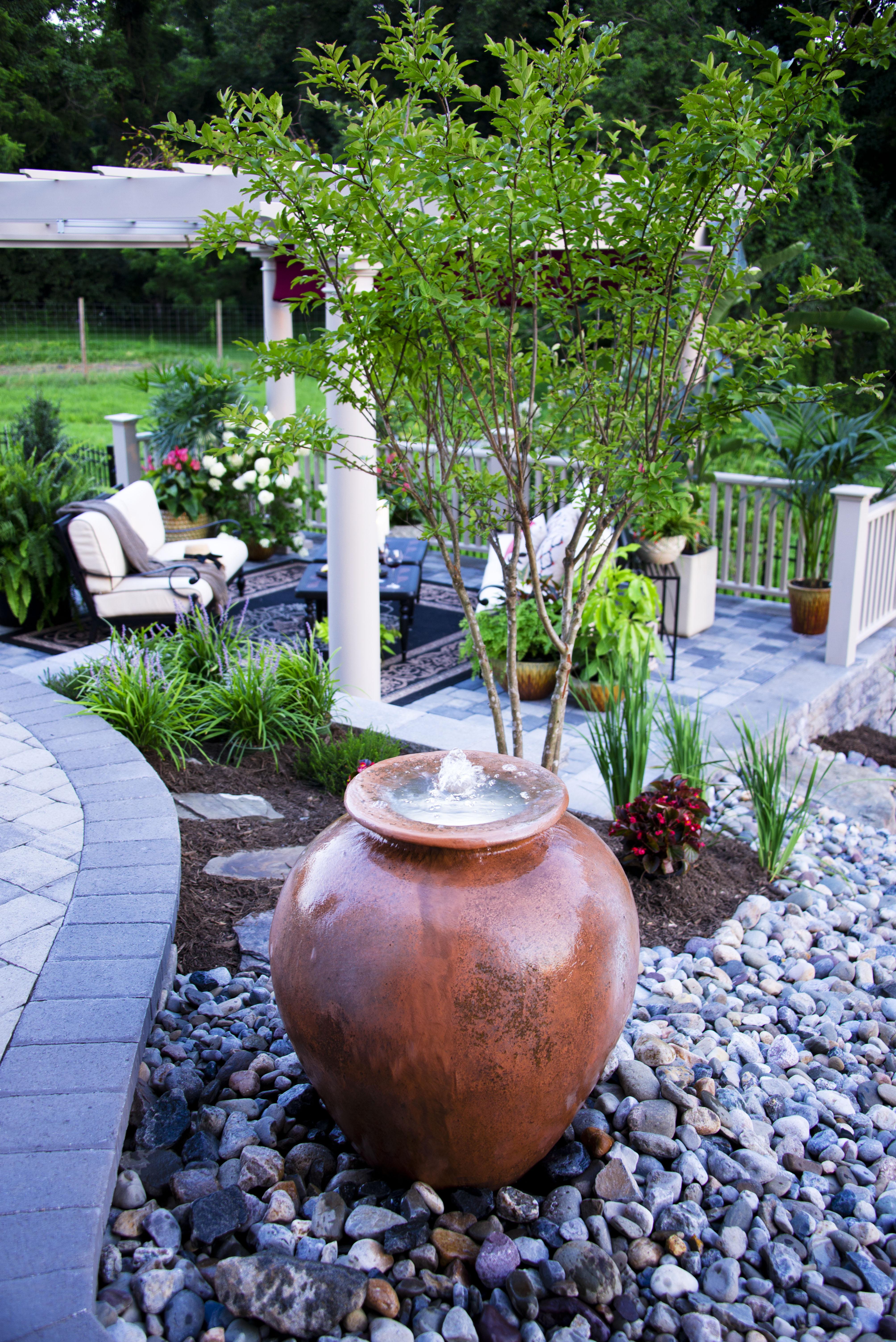 Drainage Garden Water Feature