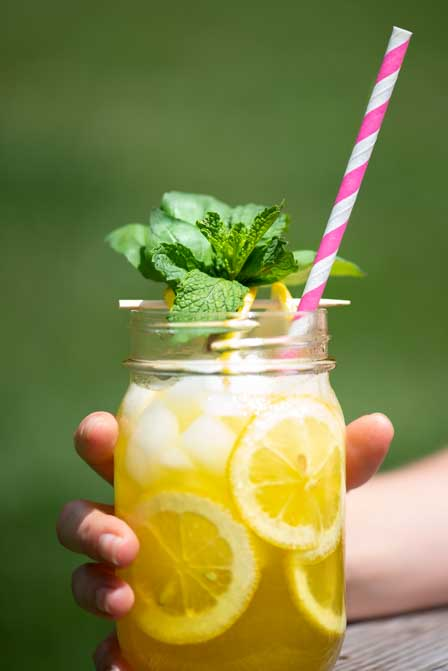 Mint Basil Lemonade Blog
