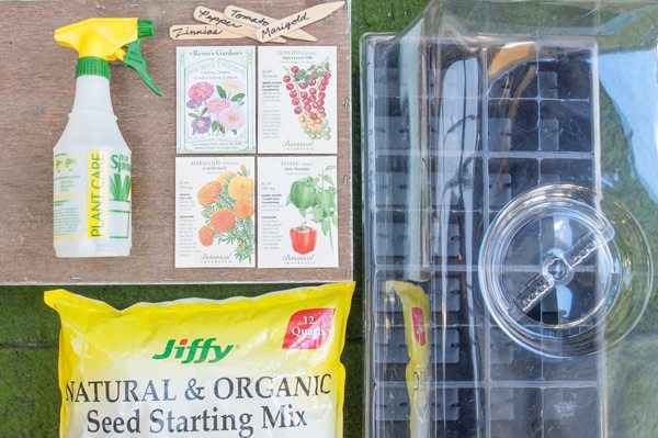 Seed Starting Supplies and Tools