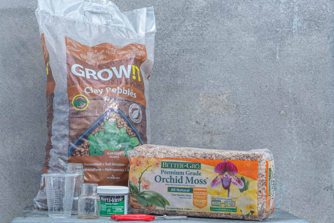 Houseplant Propagation Tools and Supplies