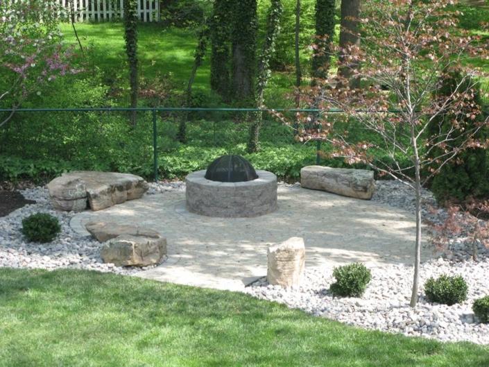 Rock Garden Fire Pit