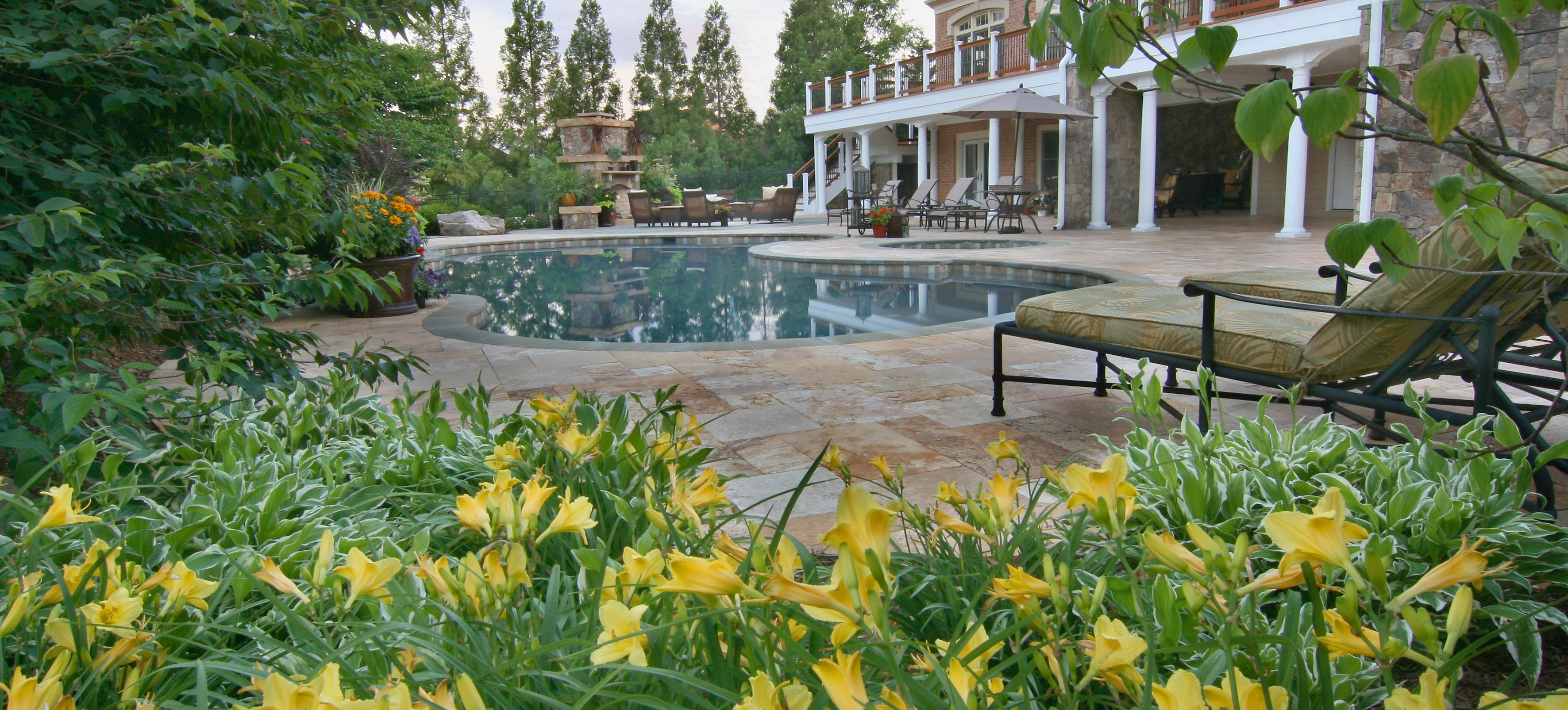 Pool with Slate Deck
