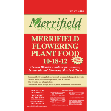 Merrifield Flowering Plant Food 10-18-12
