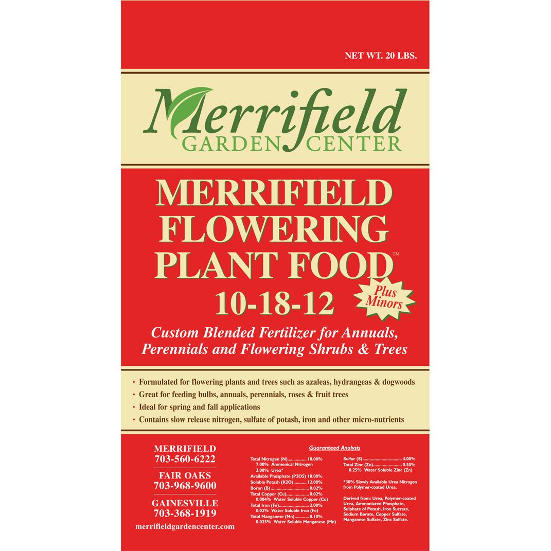 Merrifield Flowering Plant Food 10-18-12