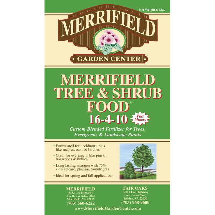 Merrifield Tree & Shrub Food