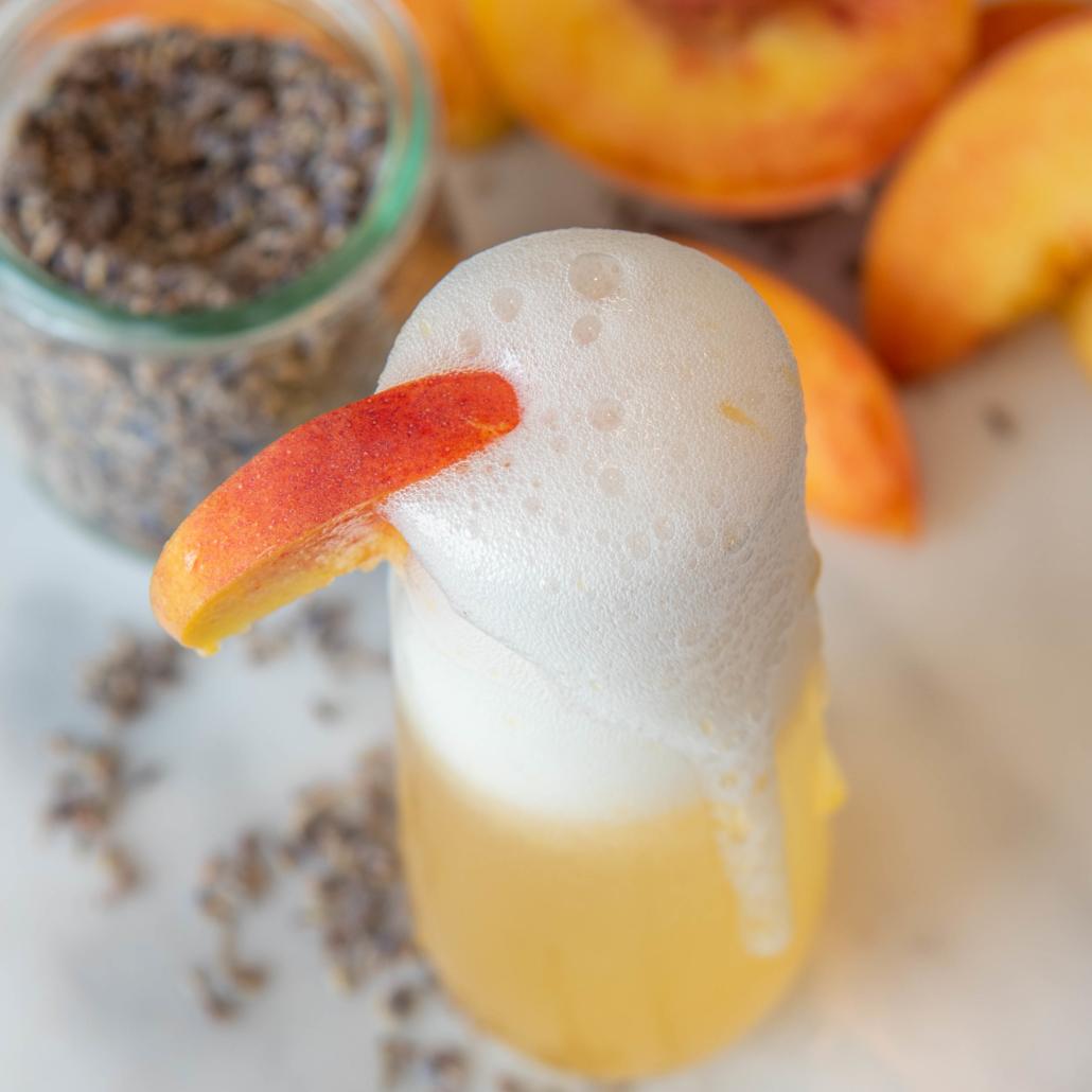 Peach Bellini Recipe with Fresh Peaches