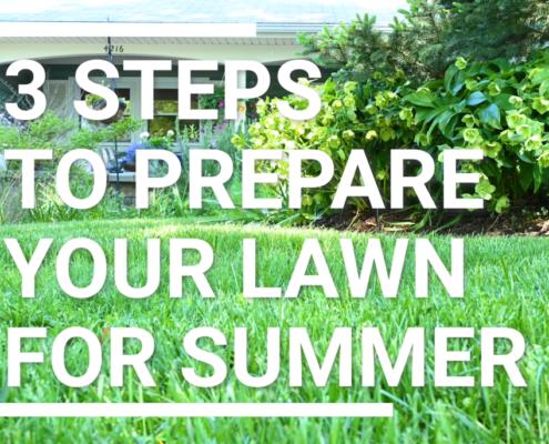 Prep for Summer Lawns