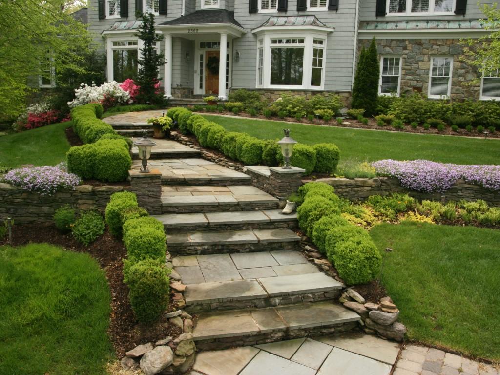 Stone and Slate Steps